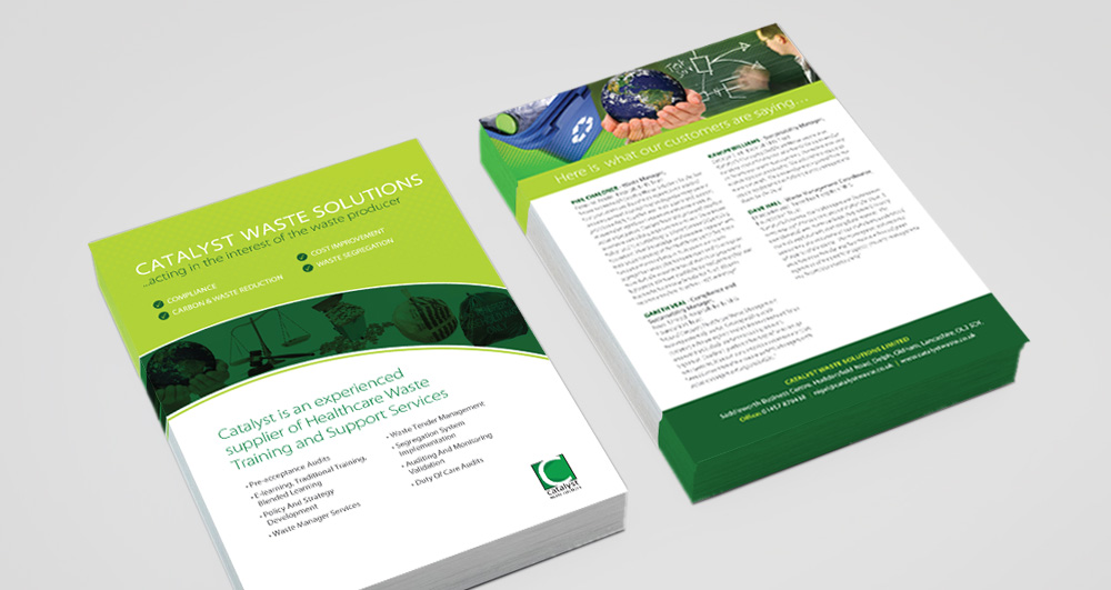 catalyst brochure insert semple creative communications semple